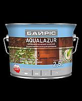 Байрис Aqualazur  декоративная лазурь для древесины 2.5л