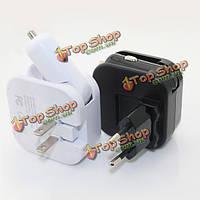 ВТА-513uc 2.1a многофункциональный Универсальное зарядное устройство конвертер с автомобильным зарядным устройством