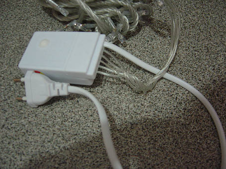 Гирлянда электрическая новогодняя LFDN-1515R, фото 2