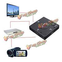 3 портовый 1080p HDMI конвертер переключатель сплиттер