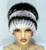 Меховые шапки из комбинированного меха Песца и Rex Rabbit Кубанка.(ч.ш2) b82ad45b53210