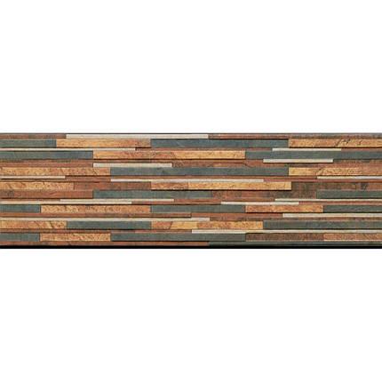 Плитка клинкерная Cerrad Kamien Zebrina Rust  175X600X9Мм, фото 2