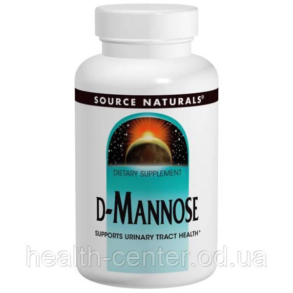 D-манноза 500 мг 60 капс лечение инфекций мочевого пузыря и почек Source Naturals USA