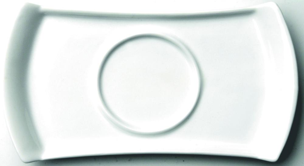 Блюдце Concavo прямоугольное, 16 см от BergHOFF 1693118