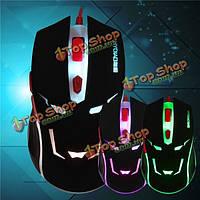 H7 USB проводной офис игровой мыши колесо прокрутки 6 Кнопка 800-2000dpi