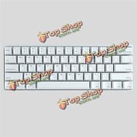 Вихревая покер 3 pok3r мини 61 ключи механической игровой клавиатуры вишня м х черный синий коричневый красный