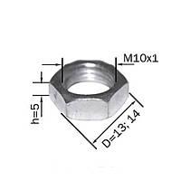 Гайка стальная (толщина - 5мм)