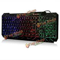 Kuiyn K1 LED С подсветкой USB проводной игровой клавиатуры ср LOL вау
