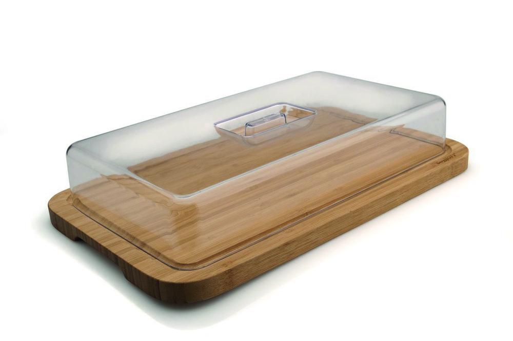 Доска прямоугольная с пластиковой крышкой, 39 х 24 см BergHOFF 1101811