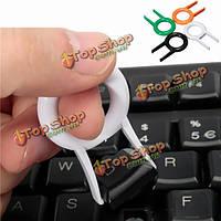Механические клавиатуры округлые KEYCAP съемник ключ крышка удалить инструмент абс keypuller