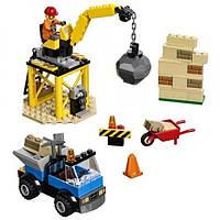 LEGO Junior Набор Стройка Кран dumps and Crane set 10667