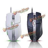 Ajazz 3500dpi оптические технологии avago a3050 6 кнопок USB игровая мышь