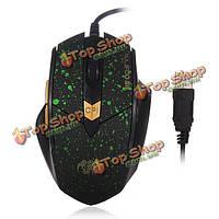 Rajoo г6 USB проводной игровой 6 ключ 4Dpi режим оптическая мышь для портативных ПК