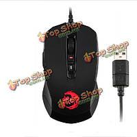 Рыцарь рекордера g3000 игровой USB проводная лазерная компьютерная мышь для Dota и CS МВ