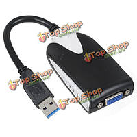Грех Хон ш.-uga08 USB 3.0 для VGA-дисплей преобразователя видеокарты