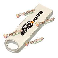 Bestrunner 16Гб портативный Mini металл флэш-накопитель серебро USB2.0 карты памяти U диск