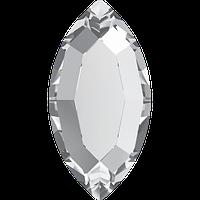 Камни Сваровски для украшения ногтей 2200 Crystal (001) 8х4 мм