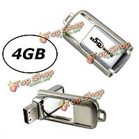 Bestrunner 4Гб вертят память ручки хранения большого пальца флеш-карты металла USB 2.0 u диск