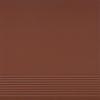 Плитка для ступени клинкерная Cerrad elewacyjne Burgund prosta  300x300