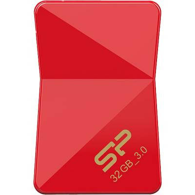 USB флеш накопитель Silicon Power 32GB Jewel J08 Red USB 3.0 (SP032GBUF3J08V1R), фото 2