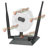 Дж-ссылка на LJ-6305 150 Мбит / с 2.4 ГГц беспроводной USB-адаптер с 2 антенны