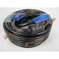 Стандартный 3+6 из чистой меди кабель VGA мужчины к мужчине кабель 20м
