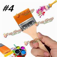 # 4 нейлон Картина кисти художников акриловая краска масла питания лак инструмент искусства
