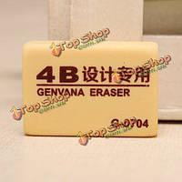 Genvana 4б среднего размера ластика резины для искусства рисования эскизов