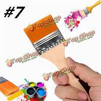 Число 7 нейлоновые кисти живопись художники акриловая краска масла питания лак инструмент искусства