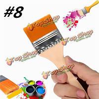 Число 8 нейлоновые кисти живопись художники акриловая краска масла питания лак инструмент искусства