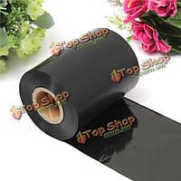 80мм x300м черная красящая лента лента для принтера securion dualys evolis камешек