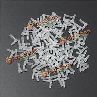 100x резины полые трубки два рычага изгиба плагин л Форма для картриджа СНПЧ фитинга.