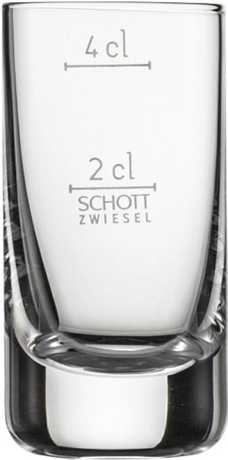 Стопка 2+4 cl с градуировочной отметкой Schott Zwiesel Convention 103619