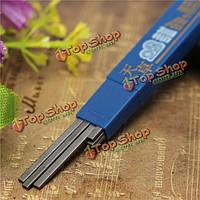 2.0мм 6шт черный карандаш для заправки набор для экзамена автоматического механического карандаша