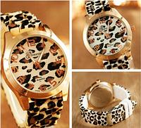 Часы леопардовые женские