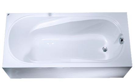 Ванна прямоугольная 160*75 см, с ножками ДЫМЕР COMFORT (XWP3060000)