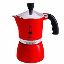 Гейзерная кофеварка Bialetti Fiammetta на 3 чашки (красный)