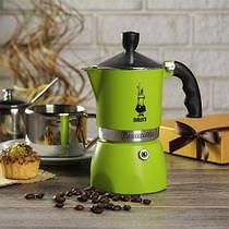 Гейзерная кофеварка Bialetti Fiammetta на 3 чашки (зеленый)