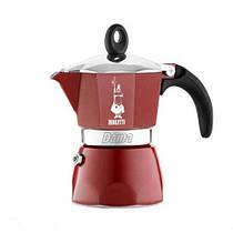 Гейзерная кофеварка Bialetti Dama на 3 чашки (красный)