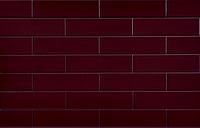 Плитка (клинкер) CERRAD elewacyjne szkliwiona wiśnia   6,5 x 24,5