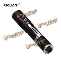 Crelant 7G3CS CREE хт-l2 5с теплый белый 960LM 18650 EDC LED фонарик