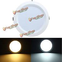 12w LED скрытого монтажа встраиваемые потолочные панели вниз света AC85-265V