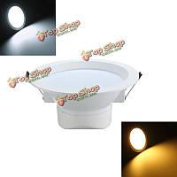 9w LED скрытого монтажа встраиваемые потолочные панели вниз света AC85-265V