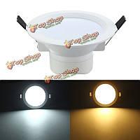 5w LED скрытого монтажа утопленной Потолочная панель вниз свет AC 85-265V