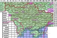 Трехверстовые карты Украины 19 век. + привязка для OziExplorer