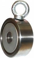 Двухсторонний поисковый магнит «Редмаг»  F400*2 (550 кг. )