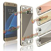 Чехол бампер со стразами для Samsung Galaxy S7 Edge
