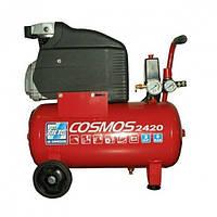 Компрессор поршневой с прямым приводом, 1.5 кВт, ресивер 24 л, 210 л/мин, 8 Атм, 220 В Fiac