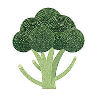 Доска разделочная Broccoli 30x30 см WORKTOP SAVERS Joseph Joseph 90093