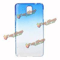 Прозрачные капли воды защитный чехол для Samsung Примечание 3 n9000
